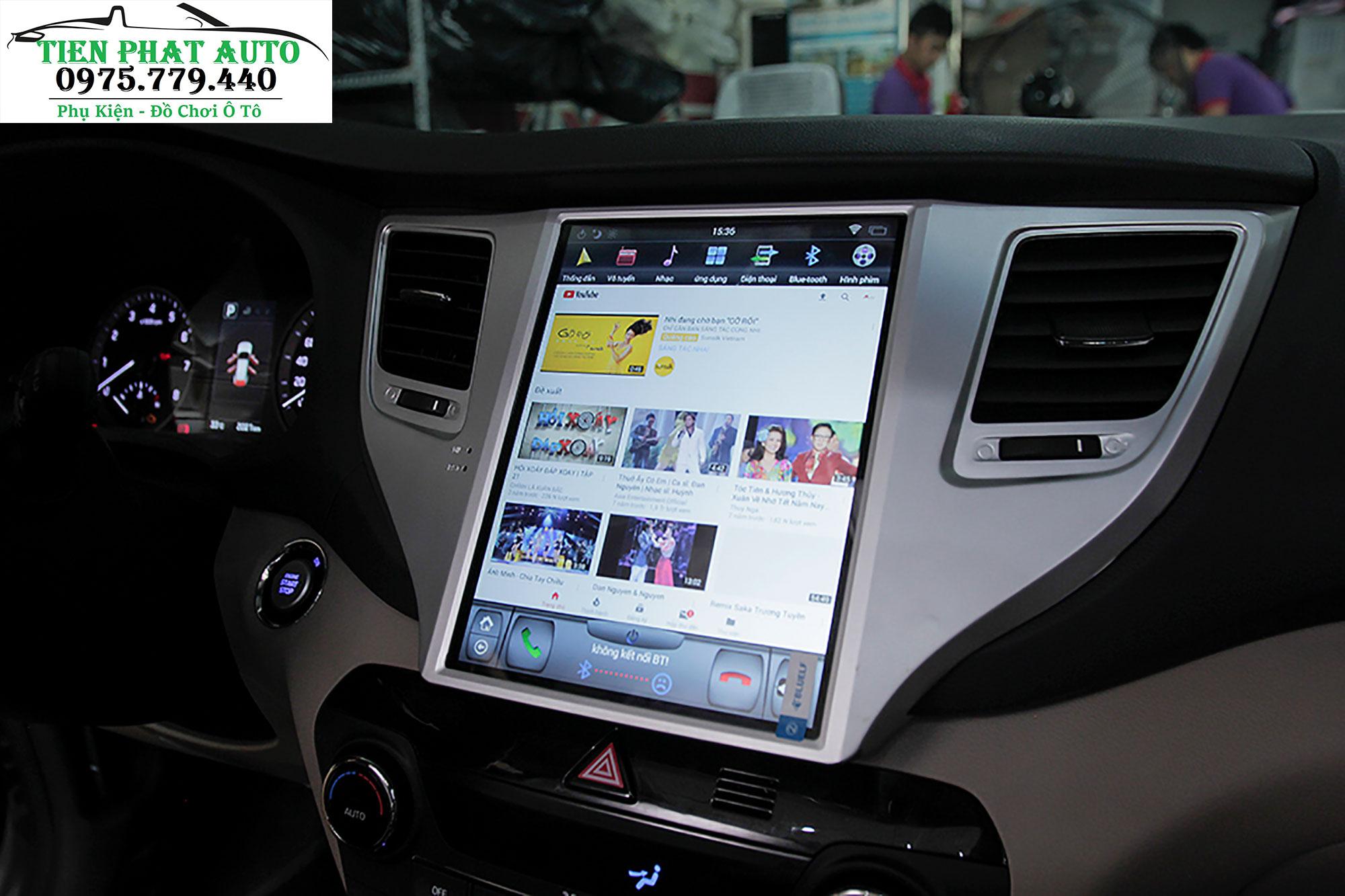 Màn Hình DVD Tesla Cho Hyundai Tucson