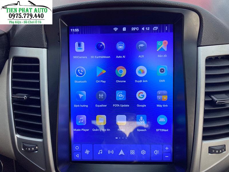 Màn Hình DVD Teyes Tpro Cho Chevrolet Cruze