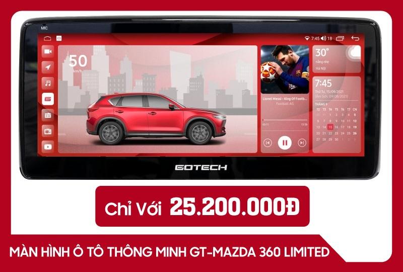 Màn Hình Gotech GT Mazda 360 Limited