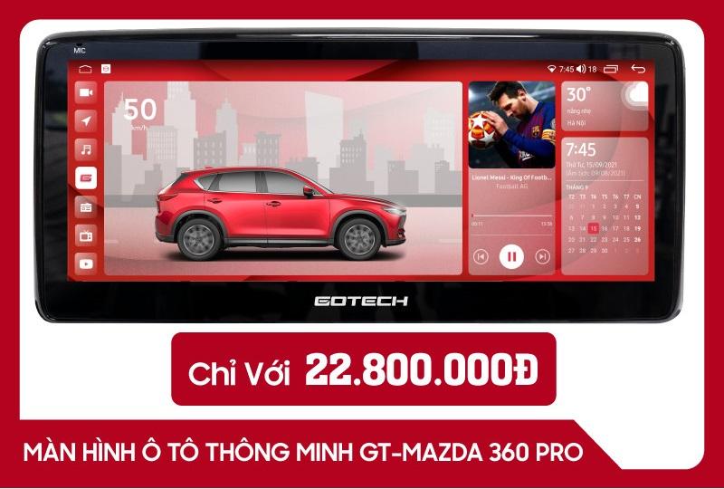 Màn hình Gotech GT Mazda 360 PRO