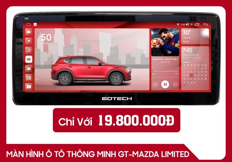 Màn Hình Android Gotech GT Mazda Limited