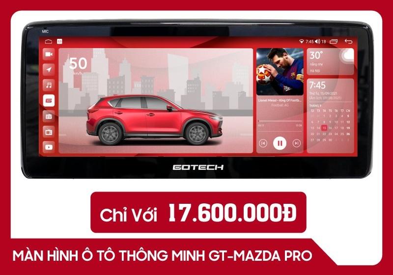 Màn Hình Android Gotech GT Mazda PRO