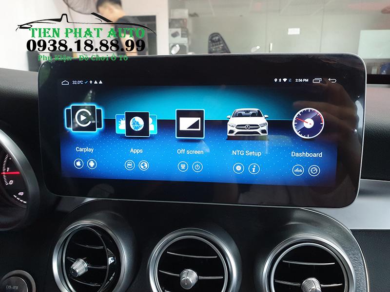 Màn Hình Ô Tô DVD Android Mercedes C200