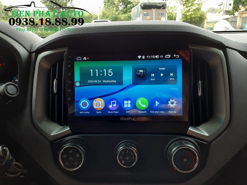 Màn Hình Android Oled Pro X3 Cho Xe Chevrolet Colorado