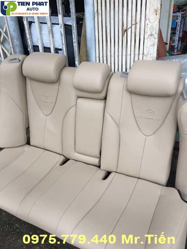 May Ghế Da Cao Cấp Cho Xe Toyota Altis Lắp Đặt Tận Nơi