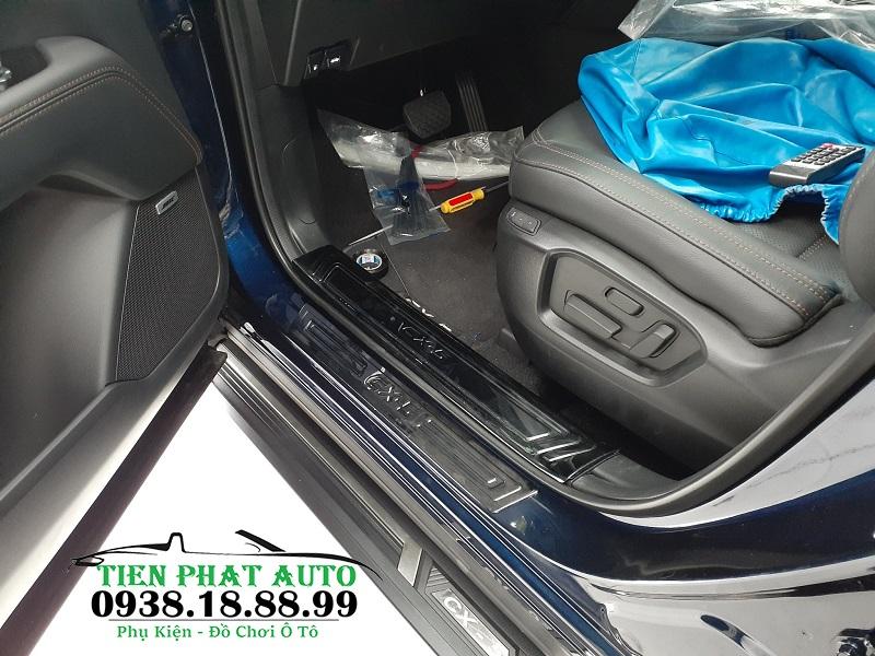 Nẹp Chống Trầy Phần Mủ (Nẹp Bước Chân Chống Trầy) Cho Mazda CX5 2018-2019 - Trang Trí Xe Ô Tô