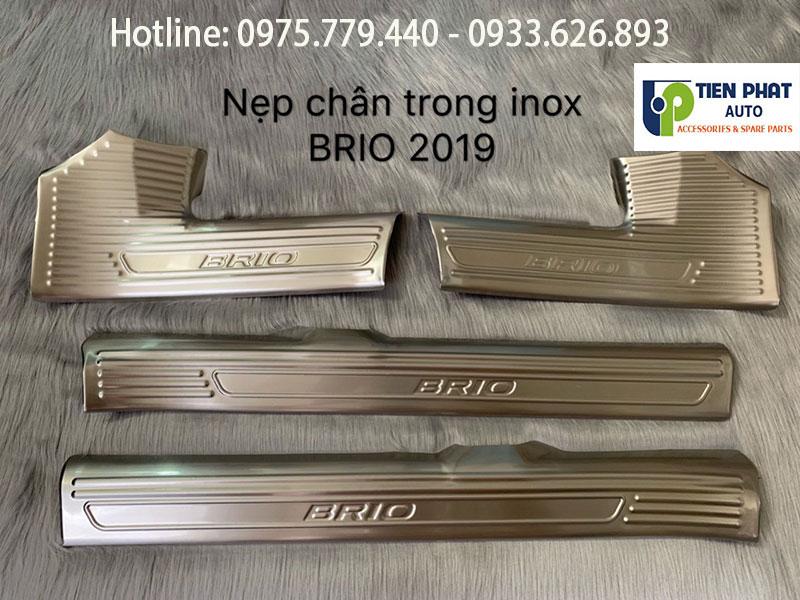NỘI THẤT ỐP CACBON CHO XE BRIO 2019 TẠI TP.HCM