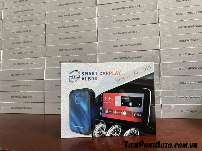 Smart Carplay AI Box Pro HTD Giải Pháp Cho DVD Zin Oto