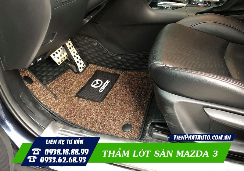 Thảm Lót Sàn Mazda 3