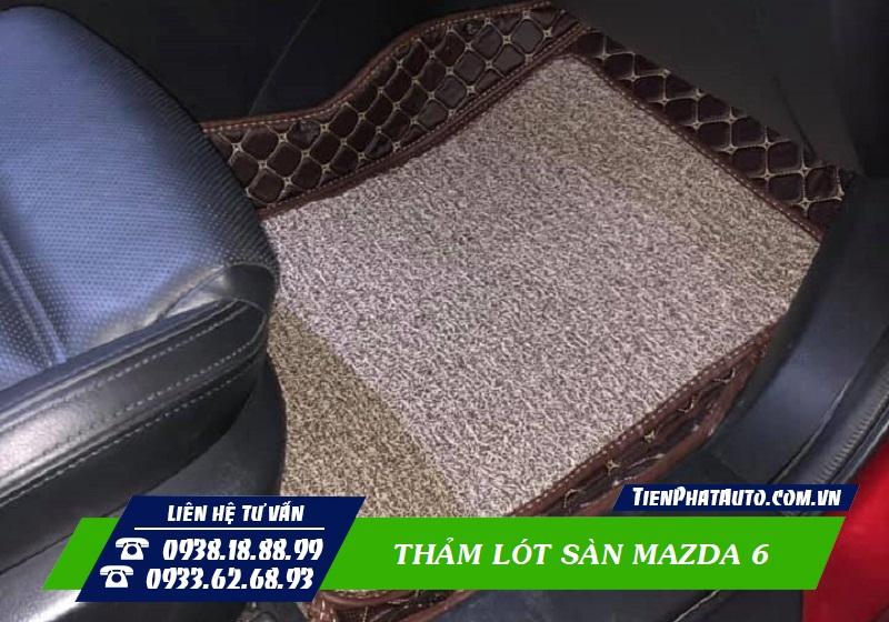 Thảm Lót Sàn Mazda 6 2021