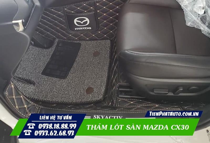 Thảm Lót Sàn Mazda CX30