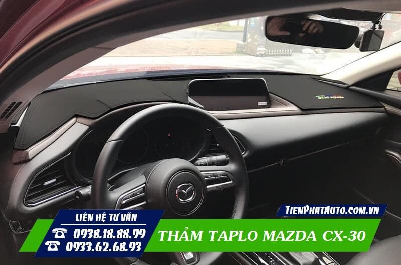 Thảm Taplo Cho Xe Mazda CX-30