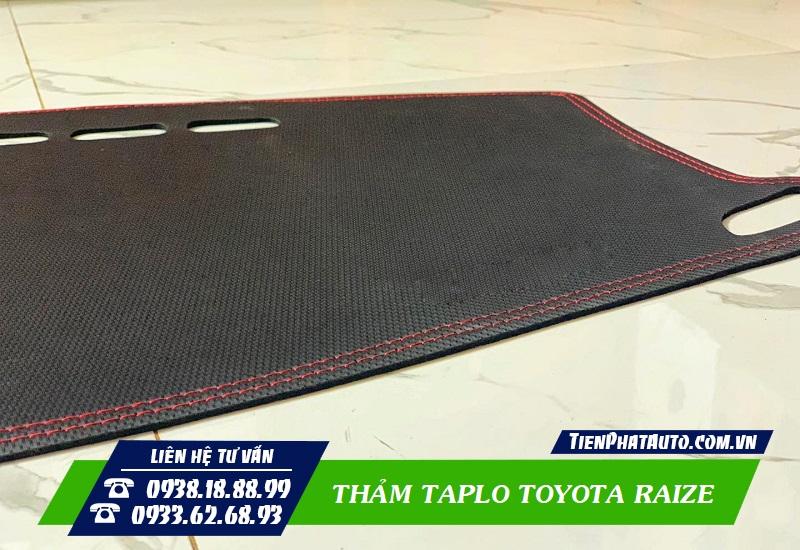 Thảm Taplo Xe Toyota Raize