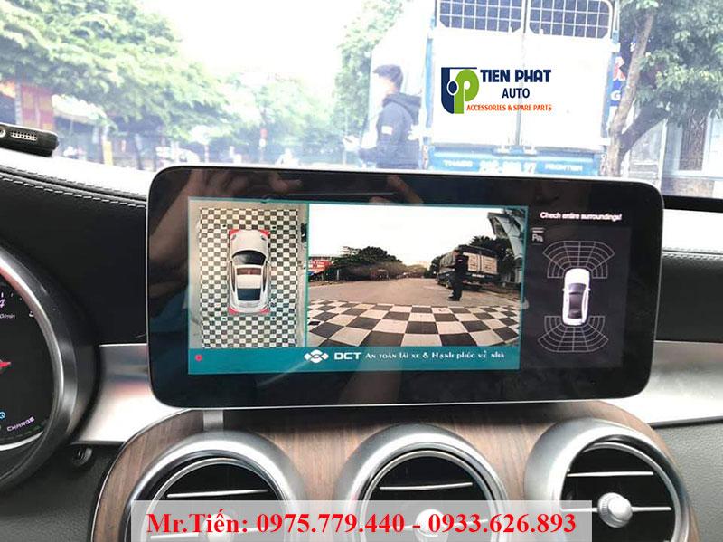 Tính Năng Nổi Bật Của Camera 360 DCT Cho Xe Mercedes C200