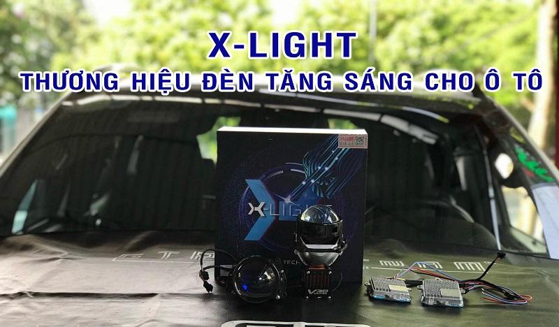 Tổng Hợp Đèn Tăng Sáng Cho Ô Tô Thương Hiệu X-Light