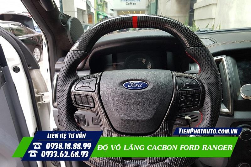 Vô Lăng Cacbon Ford Ranger