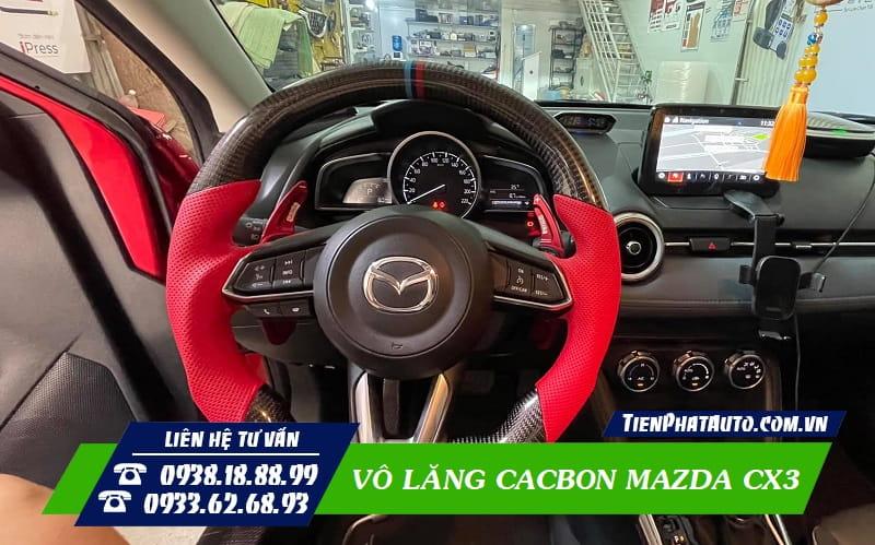 Vô Lăng Cacbon Mazda CX3