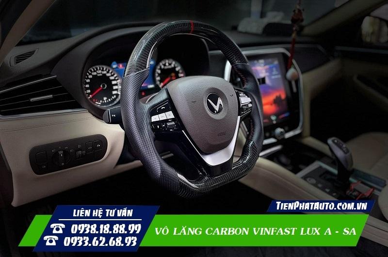 Vô Lăng Carbon Vinfast Lux A - Lux SA